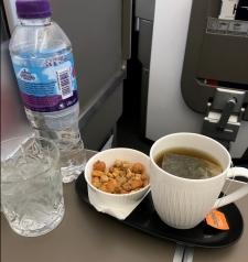 Tea on plane